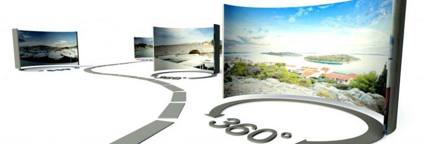Photo d'un objet à 360 degrés